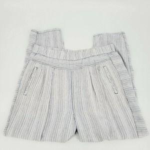 Hei Hei Anthropologie Francois Striped Linen Pants